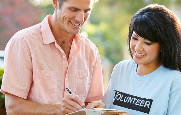 Make change happen, volunteer!